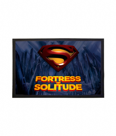 Superman Inspired Fortress of Solitude Doormat Welcome Mat